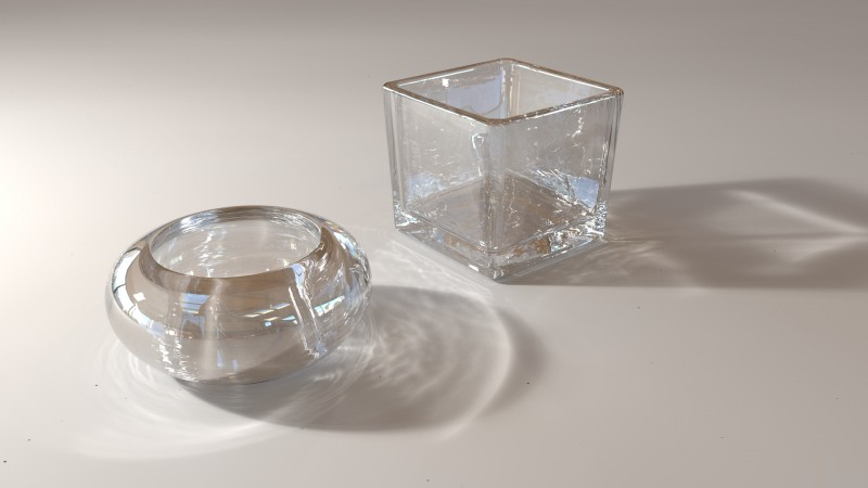 Blender Cycles Glass Noise Light