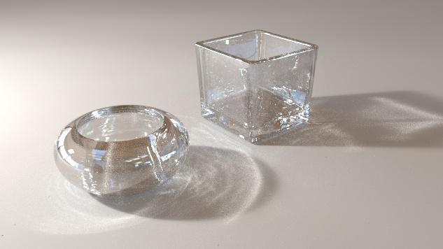 Blender Glass Material Node